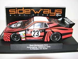 Amazon.com: Racer Sideways Lancia Beta Montecarlo Group 5, SW16: Toys