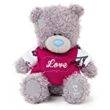 Me to You 4-inch Tatty Teddy Bear Wearing a Love T-Shirt (Grey)