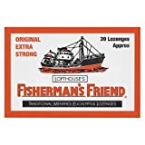 Fisherman's Friend Lozenges Original Extra Strong 45g