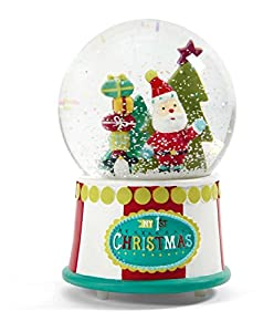 Mamas & Papas My 1st Christmas Large Musical Snow Globe