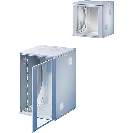 """Armoire rack/réseau 19"""" Rittal Flatbox 7507110"""