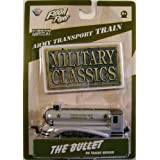 Floor Flyer Army Transport Die Cast Train: The Bullet, Military Classics