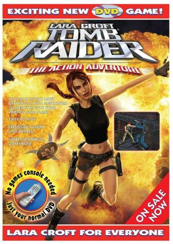 Lara Croft Tomb Raider - An Action Adventure Interactive DVD Game [Interactive DVD] [2006]