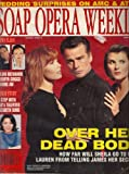 Ian Buchanan, Kimberlin Brown, Tracey E. Bregman, Bold and the Beautiful, Elizabeth Sung, Julian McMahon, Robyn Griggs, Why Some Actors Simmer On One Soap, Then Soar On Another - March 21, 1995 Soap Opera Weekly Magazine