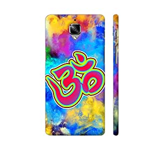 Colorpur Om Be Spiritual On Multicolor Artwork On OnePlus 3 Cover (Designer Mobile Back Case) | Artist: Sangeetha
