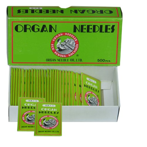 Best Price Ball Point Sewing Machine Needles Home-use By Organ Needles (10 Needles/pack), Select Siz...