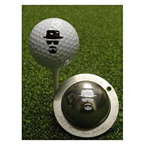 Tin Cup Golf Ball Custom Marker Tool - Incognito (Heisenberg) by Tin Cup