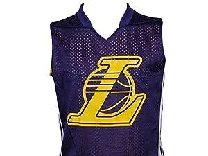 Adidas - Lakers revsl nba lal jr - Maillot de basket - Violet - Taille 16ans