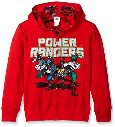 power-rangers-little-boys-character-hoodie-red-reversible-medium-5-6