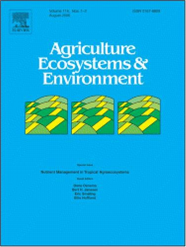 Pest management benefits of compost mulch in apple orchards [An article from: Agriculture, Ecosystems and Environment]