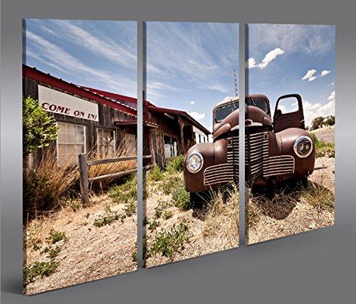 Quadro moderno Alter Chevy V2 Arizona 3p Stampa su tela - Quadro x poltrone salotto cucina mobili ufficio casa - fotografica formato XXL