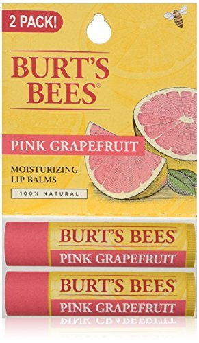 burts-bees-lip-balm-pink-grapefruit-blister-pack-03-ounce-2-count-by-burts-bees