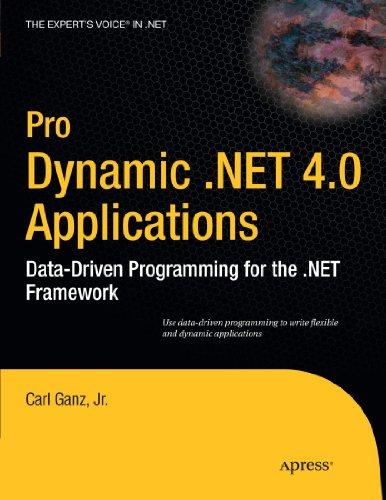 Pro Dynamic .NET 4.0 Applications: Data-Driven Programming for the .NET Framework (Expert's Voice in .NET)
