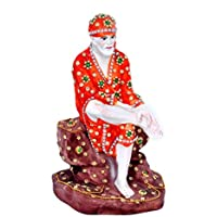 Sai Baba Premium Decorative Polyresin Statue, Home Decor By Hashcart