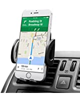 AVANTEK Support Téléphone Voiture grille aération/support telephone voiture grille aeration/Air Vent Car Mount Holder Air Vent Cradle Support pour iPhone 6 plus/ 6/ 5S / 5C / 4S, Samsung Galaxy S6 etc