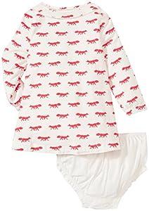 kate spade york Baby Girls' Pintuck Dress (Baby)