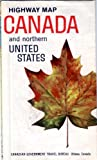 img - for Highway Map Canada and Northern United States book / textbook / text book