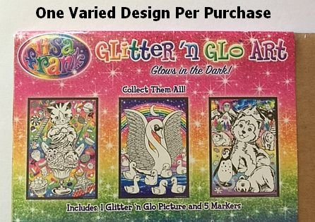 Lisa Frank Glitter and Glo Art Kit