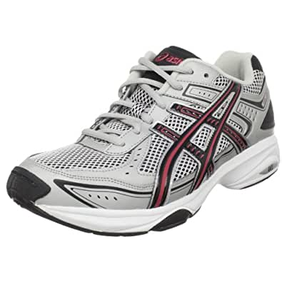 ASICS Men's GEL-Express 3 Cross-Training Shoe,White/Silver/Black,10 M