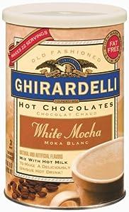 Ghirardelli Premium White Mocha Beverage Mix, 19 oz.
