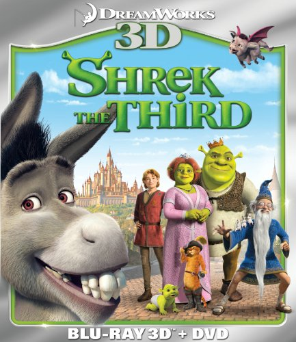 Şrek 3 - Shrek 3 2007 3D (1080p Bluray H-SBS) DUAL TR-EN - 3D Film indir