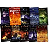 Steven Erikson Collection The Malazan Book of the Fallen 10 Books Set Pack RR...