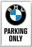 Bmw Parking Only Mini- Sign Metal Postcard Na by signs-unique