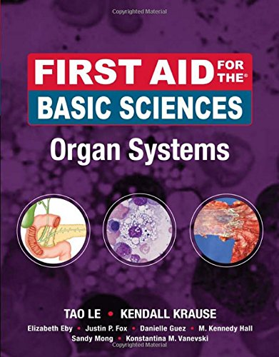 First Aid For The Basic Sciences, Organ Systems (First Aid Series)