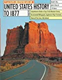 img - for HarperCollins College Outline United States History to 1877 (Harpercollins College Outline Series) book / textbook / text book