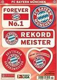 FC Bayern München Aufkleberkarte DIN A5