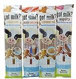 Got Milk Straws Pack of 4 Variety Hard To Find Flavors