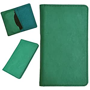 DCR Pu Leather case cover for Motorola Moto G (2nd Gen)*dual (green)