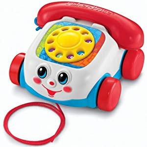 Fisher-Price Toddlerz Chatter Telephone by Fisher Price