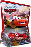 DIRT TRACK LIGHTNING MCQUEEN #03 Disney / Pixar CARS 1:55 Scale THE WORLD OF ...