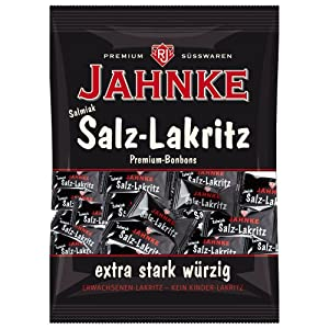 Jahnke Salmiak-salt Licorice / Salmiak-Salz-Lakritz
