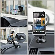 Car Mount, TaoTronics Car Windshield / Dashboard Universal Smart Phone Mount Holder, Car Cradle for iPhone / Android