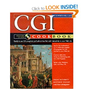The CGI Cookbook: Perl and Java Script (Cookbooks)