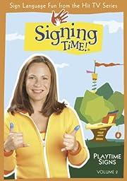 Signing Time Volume 2 Playtime Signs DVD