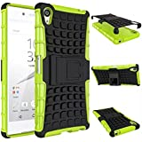 Sony Xperia Z5 Premium 2015 Phone Case - DRUnKQUEEn® Heavy Duty Rugged Dual Layer Armor with Kickstand Protective Cover for Sony Xperia Z5 Premium 5.5 Inch Smartphone 2015 Edition