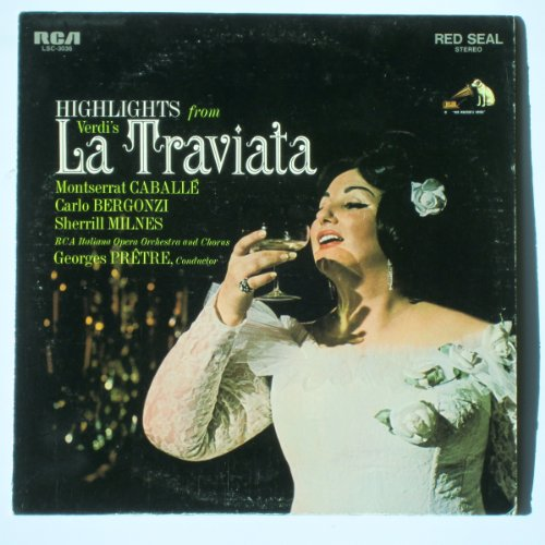 Highlights from Verdi's La Traviata (Italian Opera Vinyl compare prices)