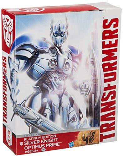 Hasbro-Transformers-Exclusive-Platinum-Edition-Action-Figure-Silver-Knight-Optimus-Prime