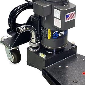 Onfloor High Performance Low Profile Concrete Floor Edger. Heavy-Duty 2HP, 120V 60 Hz Motor for Concrete Floor Resurfacing, Restoration, Grinding and Polishing. (Color: Black)