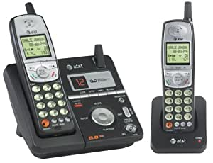 AT&T E5812B - 5.8 GHz Dual Handset Answering System