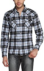 East West Men's Casual Shirt (EW-POP-019_40)