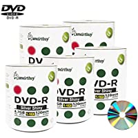 Smart Buy 500 Pack Dvd-r 4.7gb 16x Shiny Silver Blank Data Video Movie Recordable Media Disc 500 Disc 500pk