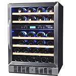 NewAir 46 Bottle Wine Cooler Classic...