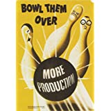 Bowl them Over, More Production (V&A Custom Print)