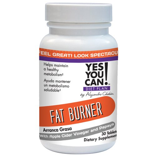 Yes You Can! Diet Plan: Fat Burner 30 Tablets (Yes U Can compare prices)