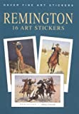 Remington: 16 Art Stickers (Dover Art Stickers) (0486413535) by Remington, Frederic