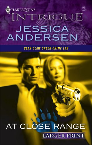 At Close Range (Harlequin Large Print Intrigue)